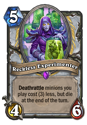 Reckless Experimenter card