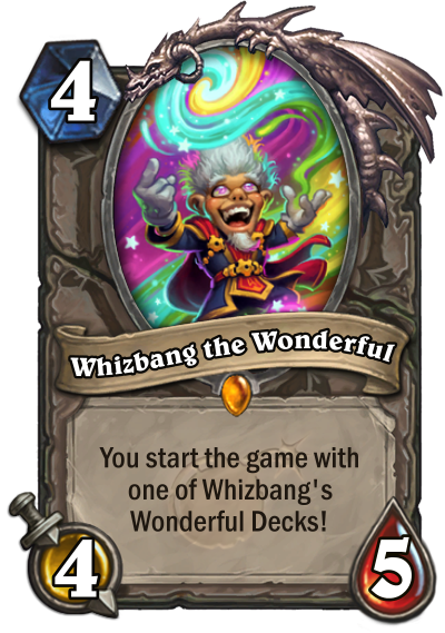 Whizbang the Wonderful card
